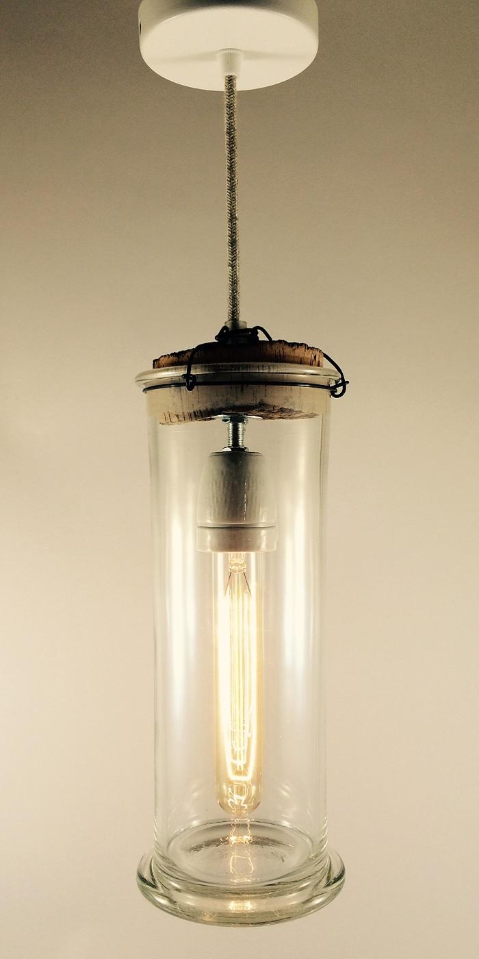 Hanglamp Cillinderglas LB-092