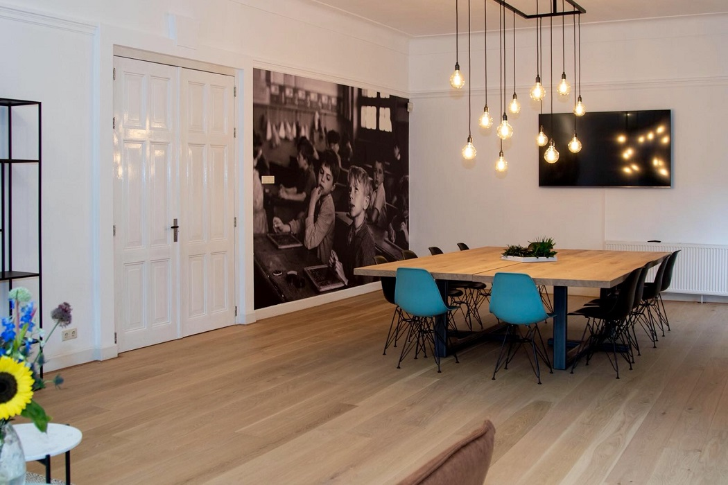 Hanglamp Vergadertafel kantoor Staal